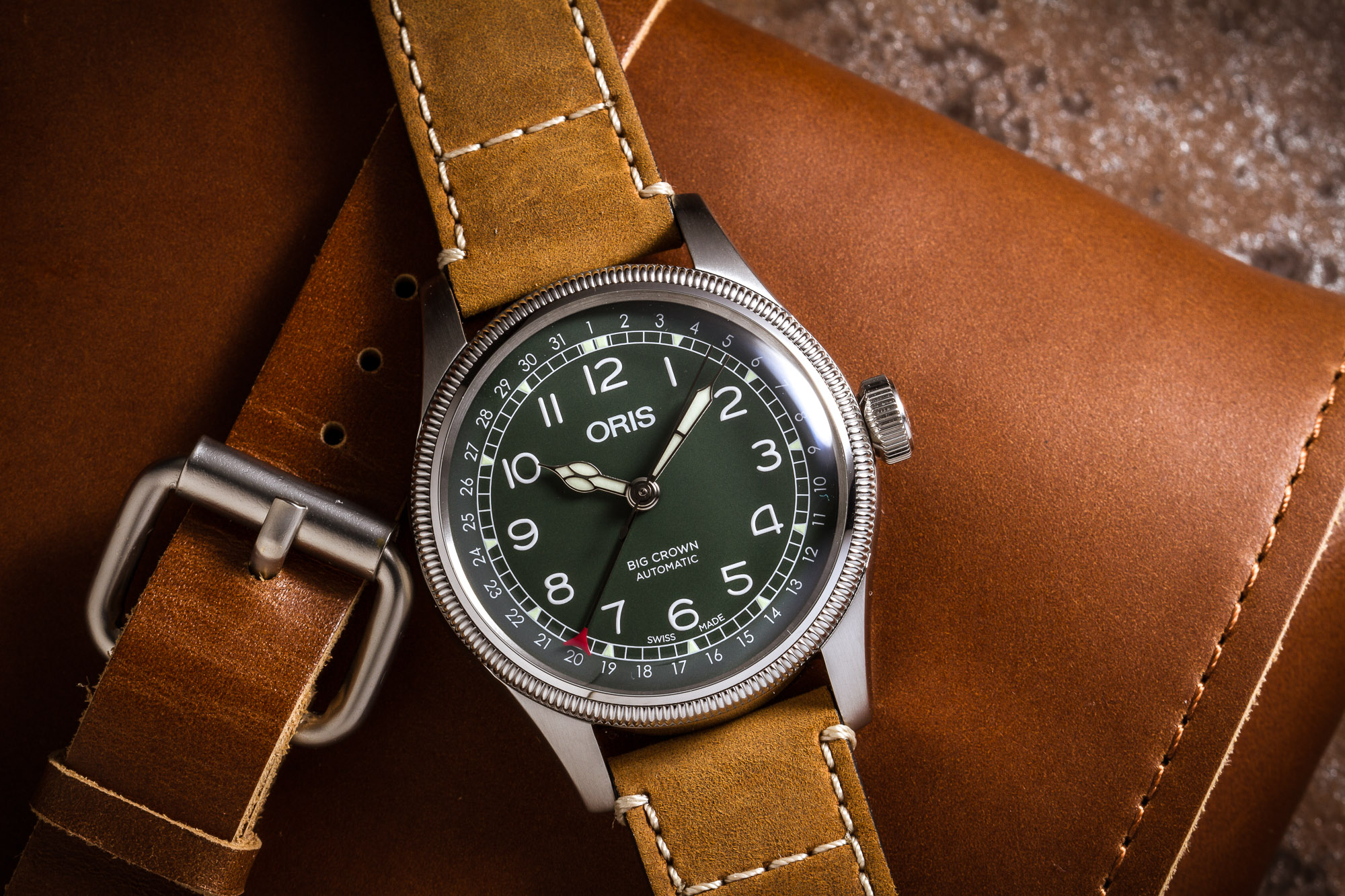 Oris Big Crown D.26 286 HB-RAG