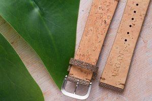 Ace Jewelers Compassionate Luxury Cork & Ash Watch Strap Vegan